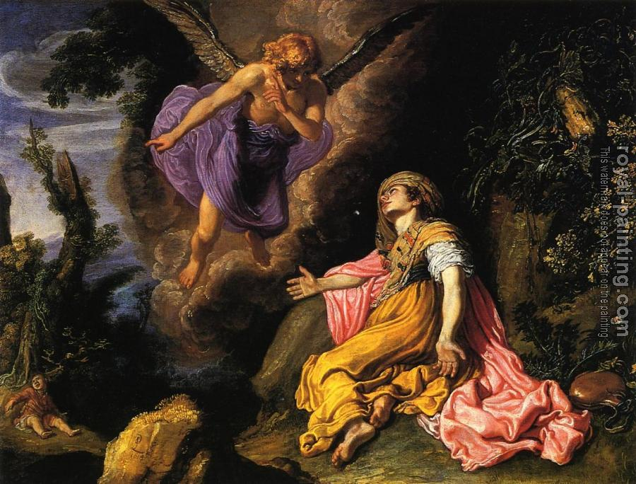 Pieter Lastman : Hagar and the Angel